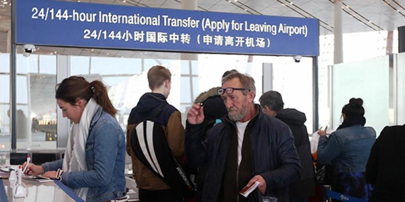 Транзит через Китай 144 часа
