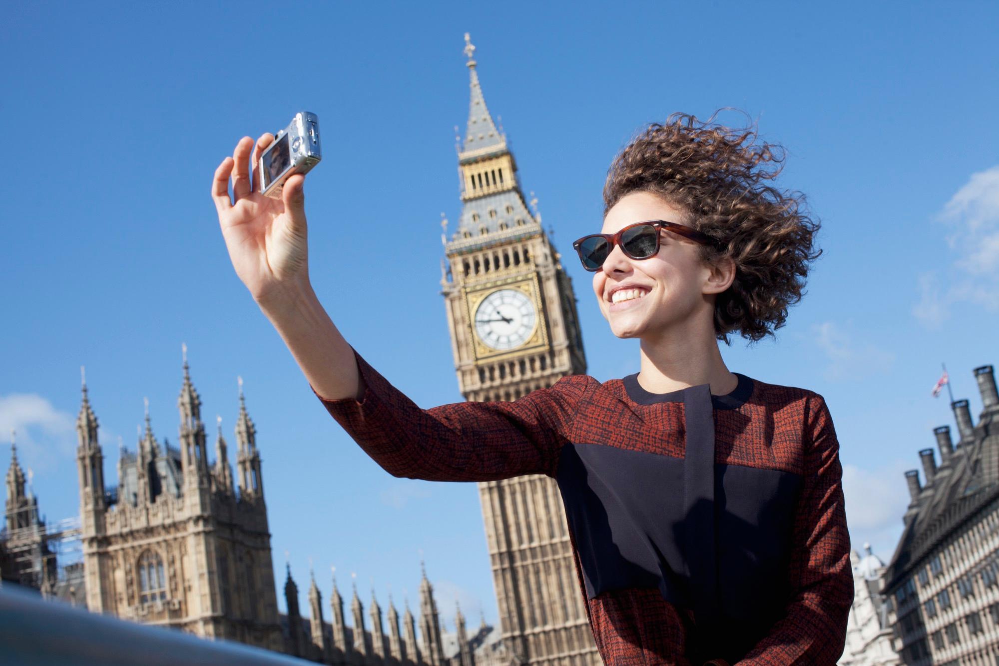 Туристы в Лондоне