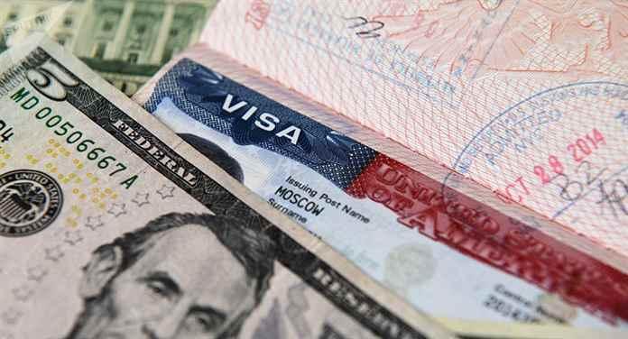 сколько стоит виза в сша.