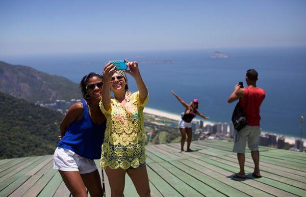 Туристы в Бразилии