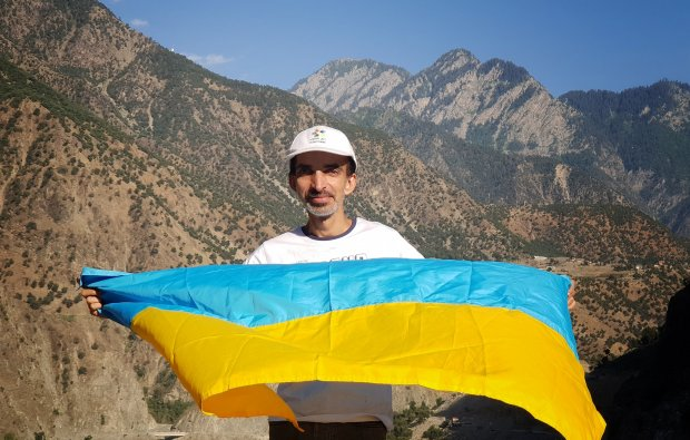Турист из Украины.
